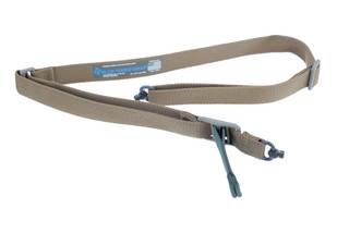 Blue Force Gear Vickers Push Button Sling comes in coyote brown