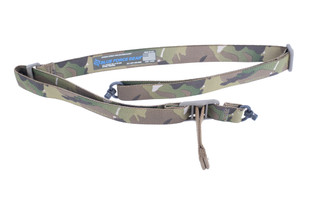 Blue Force Gear Vickers two point sling features a MultiCam pattern
