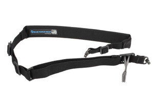 Blue Force Gear Vickers Padded Sling comes in black and features a 2 point design