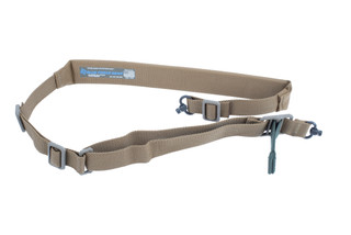 Blue Force Gear Vickers Padded 2 point sling comes in Coyote Brown