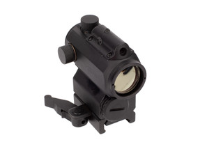 NcSTAR VISM Micro Red & Blue Dot with Green Laser is constructed from durable black andoized aluminum