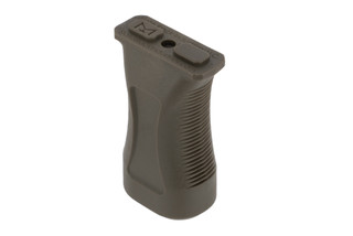 Slate Black Industries M-LOK vertical grip comes in OD green