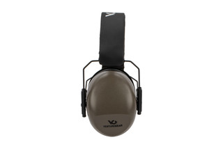 Pyramex Venture Gear VG80-series over-ear hearing protection features a 26 NRR with grey finish.