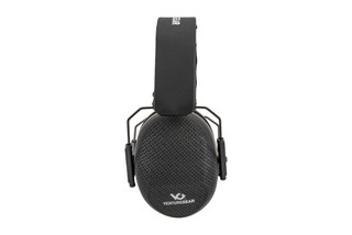 Pyramex Venture Gear VG80-series over-ear hearing protection features a 26 NRR with carbon fiber finish.