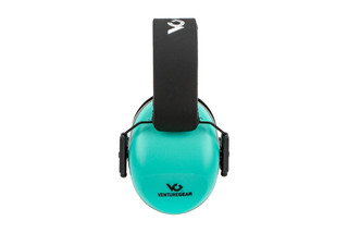 Pyramex Venture Gear VG80-series over-ear hearing protection features a 26 NRR with teal finish.