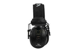 Pyramex Venture Gear clandestine low-profile electronic hearing protection with 24dB NRR in black