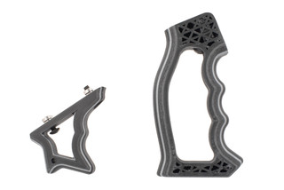 Future Forged Spectre and Halex-s grip set come in silver color