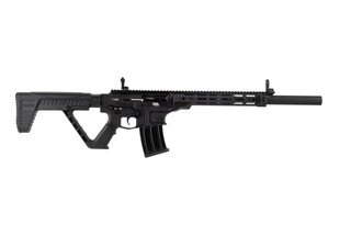 Rock Island Armory VR80 AR12 semi auto shotgun is chambered in 12 gauge