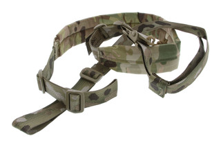 The Viking Tactics multi-cam V-Tac MK2 wide padded rifle sling offers extreme adjustability for any shooting position