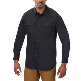 Vertx Guardian Long Sleeve Shirt in black from front