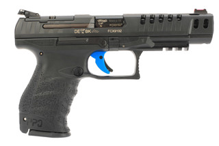 Walther PPQ Q5 Match M2 competition handgun is milled for red dot sights