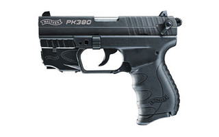 The Walther PK380 is a .380 ACP Compact 8 round Handgun with an integrated laser and short barrel designed for concealed carry