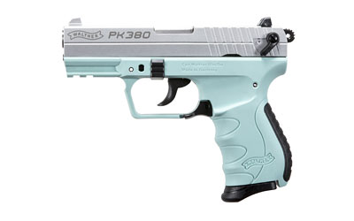 The Walther PK380 Double Action Compact Pistol has an 8 round capacity and 3.6 inch barrel