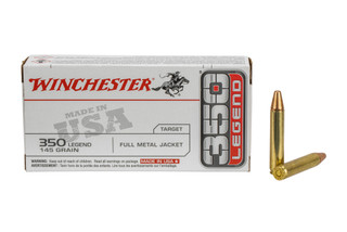 The Winchester 350 Legend Ammunition features a 145 grain power point bullet and comes in a box of 20