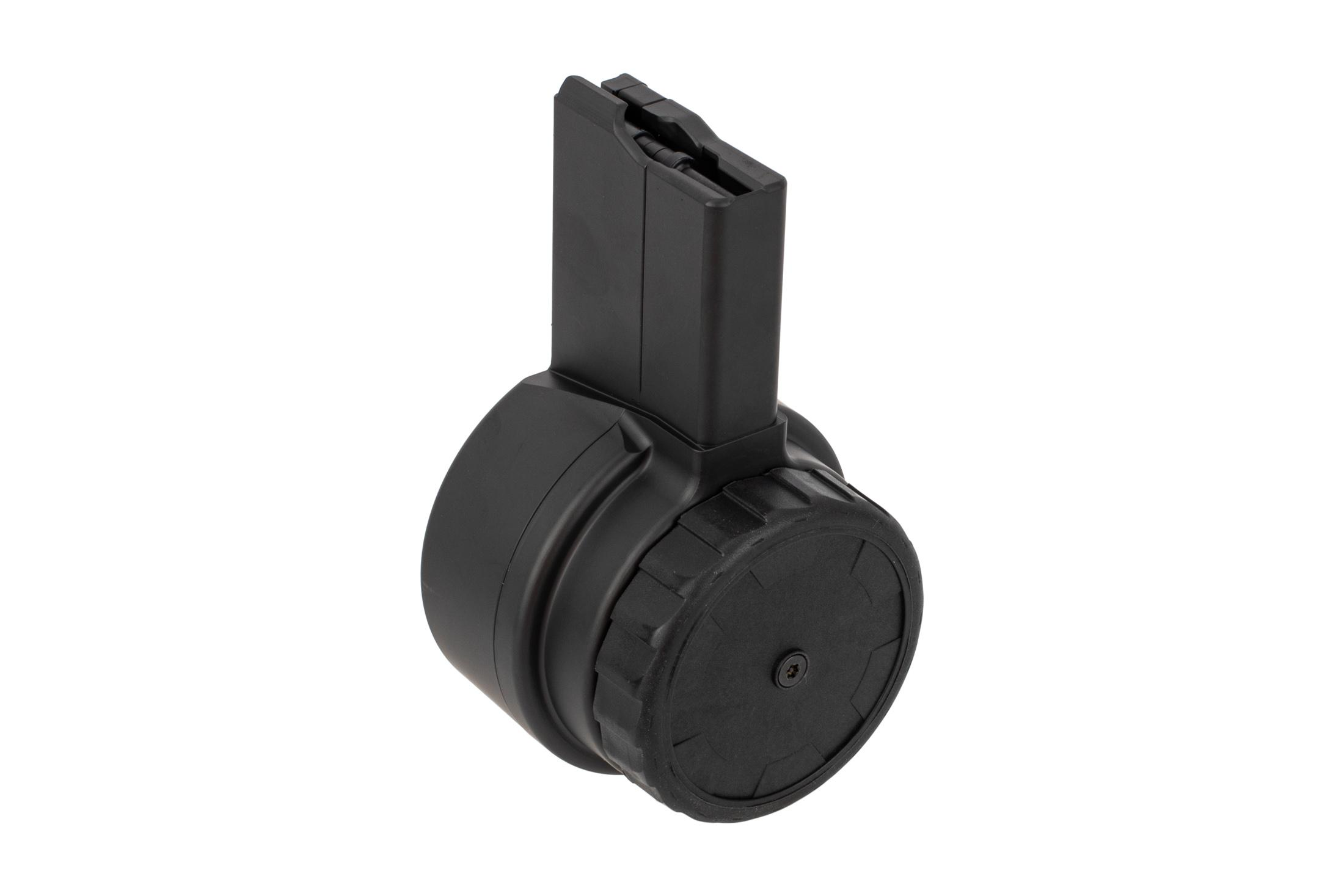 X Products 50rd AR-15 drum magazine with black finish