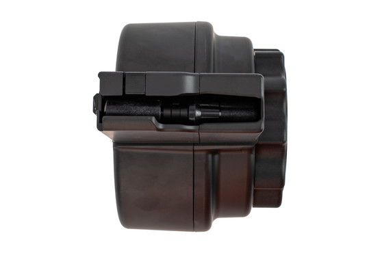 X Products 50 round SR25 drum magazine has a compact reliable design for 7.62 nato