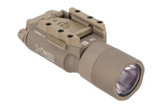 The SureFire X300 Ultra Weapon Light features 1000 Lumens of bright white LED light