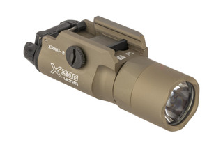The SureFire X300 ultra weapon light boasts 1000 Lumens of bright white LED light