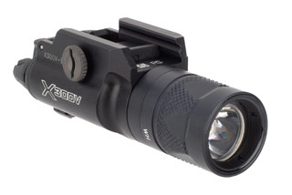 SureFire X300V-B pistol weapon light features the T-Slot mounting system