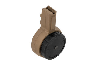 X Products 50rd CZ Scorpion drum magazine with flat dark earth finish