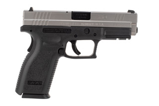 Springfield Armory XD 9mm Pistol features a stainless steel slide