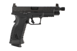 Springfield Armory XDM elite osp 9mm pistol features a threaded barrel