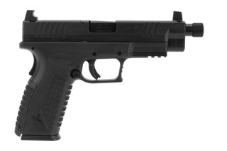 Springfield XDM OSP Elite 10mm match pistol features a threaded barrel