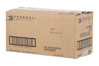 Federal Ammunition American Eagle XM193 5.56 NATO comes in a case of 1000 rounds