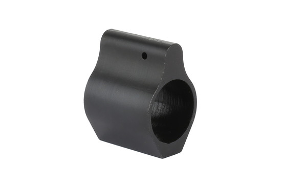The Expo Arms low profile gas block .750 is machined from 4140 steel