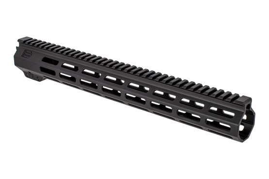 "EXPO Arms M-LOK free float M-LOK handguard with 15"" rail for the AR-15 with black anodized finish."