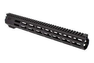 "EXPO Arms E-Series M-LOK free float M-LOK handguard with 15"" rail for the AR-15 with black anodized finish."