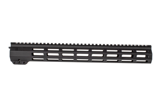 EXPO Arms 15in E-Series M-LOK freefloat rail for the AR-15 features M-LOK slots across 7 surfaces with full length top rail.