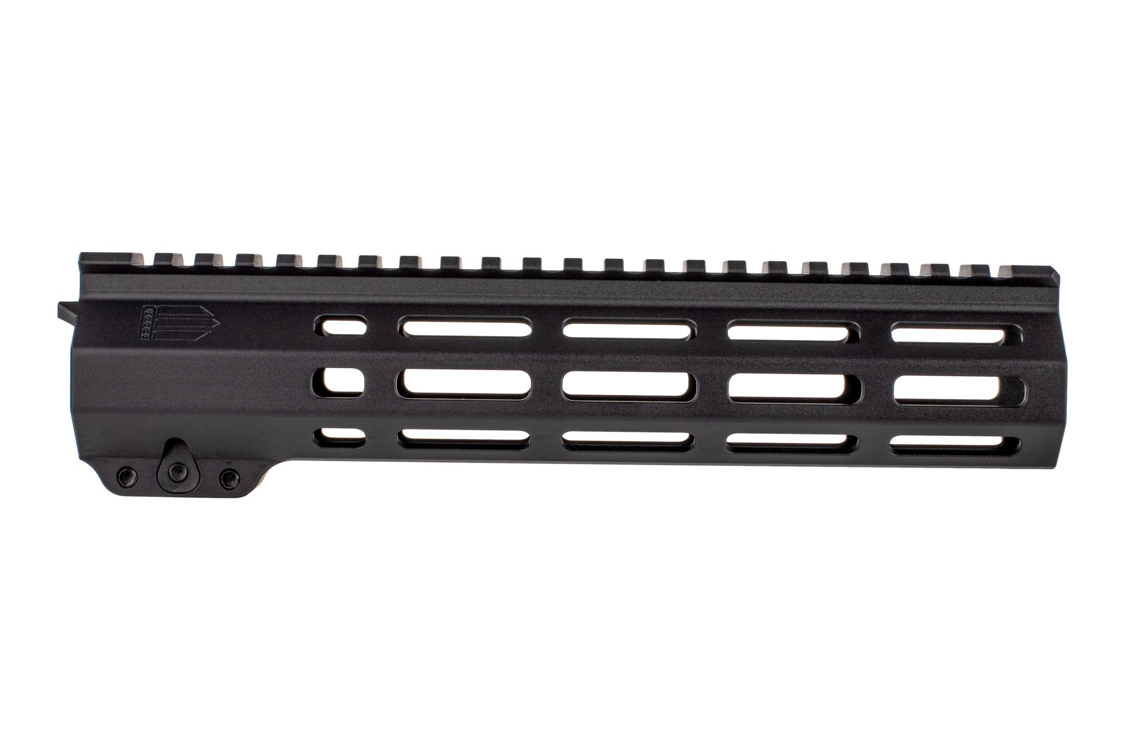 EXPO Arms 9.5in E-Series M-LOK freefloat rail for the AR-15 features M-LOK slots across 7 surfaces with full length top rail.