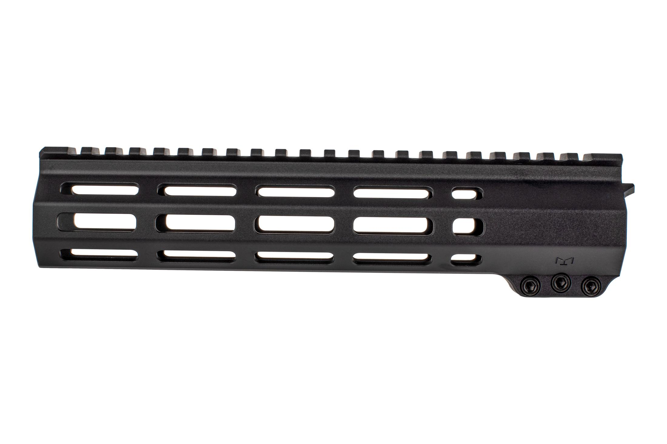 EXPO Arms black anodized 9.5in E-series M-LOK handguard for the AR-15 is free floated and lightweight rail system.