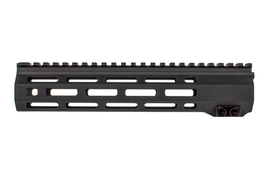 The Expo Arms Combat Series AR15 handguard features 7 sides of M-LOK slots