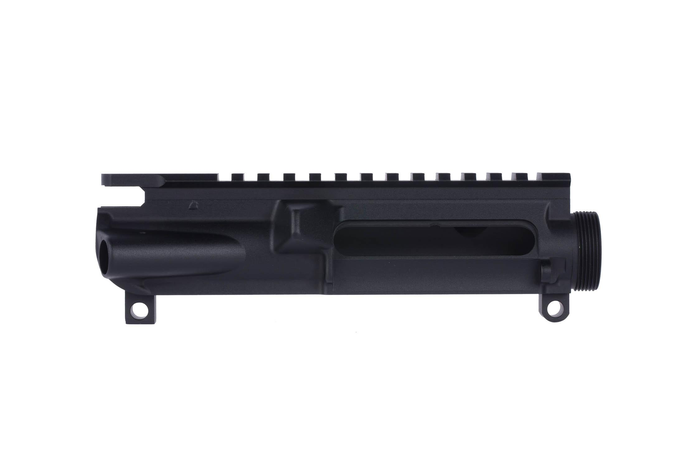 The Expo Arms AR-15 stripped upper receiver accepts MIL-SPEC components