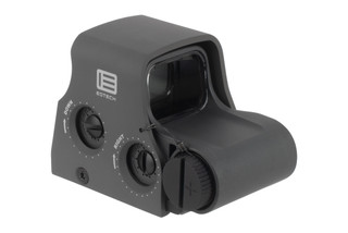 EOTech grey XPS2-0 holographic weapon sights are compact with a 65 MOA circle dot reticle and powered by (1) CR123A battery.