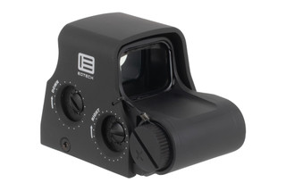 EOTech XPS2-0 Holographic weapon sight features a tough anodized aluminum body and protective hood with a transverse battery compartment