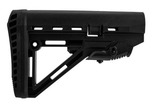XTS AR15 Carbine stock is made from black polymer