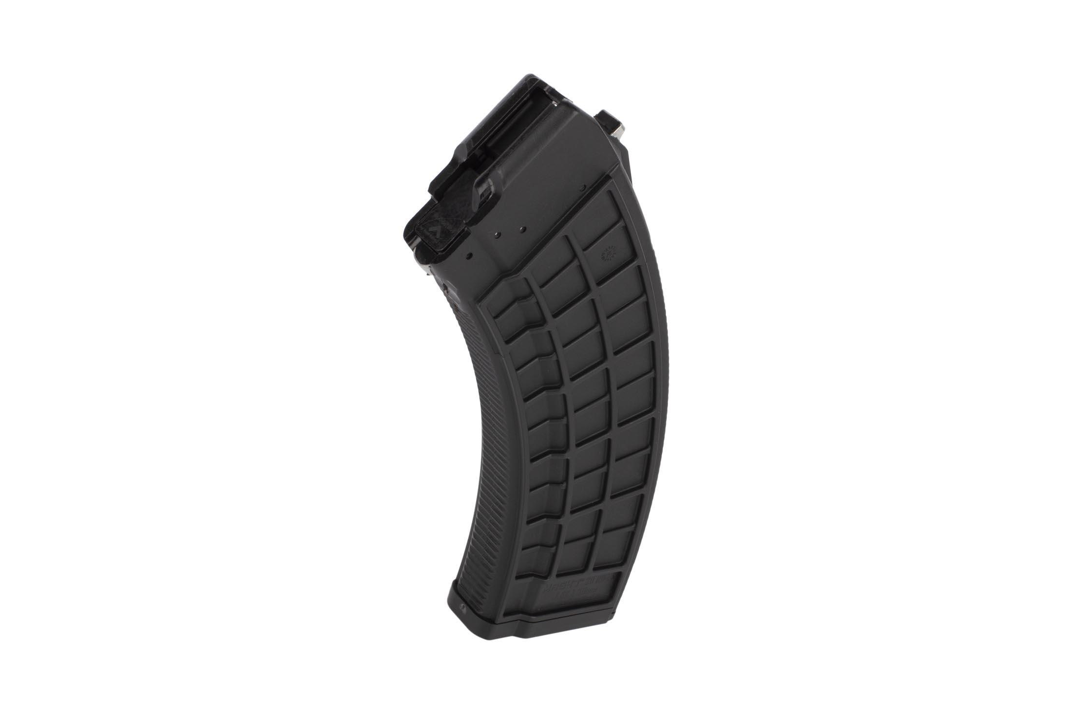 X Tech Tactical 30-Round Polymer AK-47 Bolt Hold Open Magazine - Black