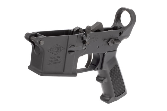 Yankee Hill Machine AR15 complete lower receiver is assembled with Mil-Spec parts