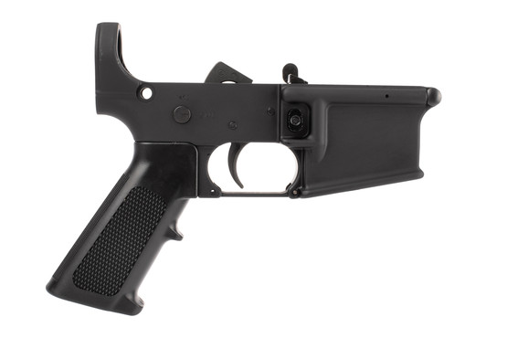 YHM AR15 Lower Receiver is forged from 7075-T6 aluminum and hardcoat anodized