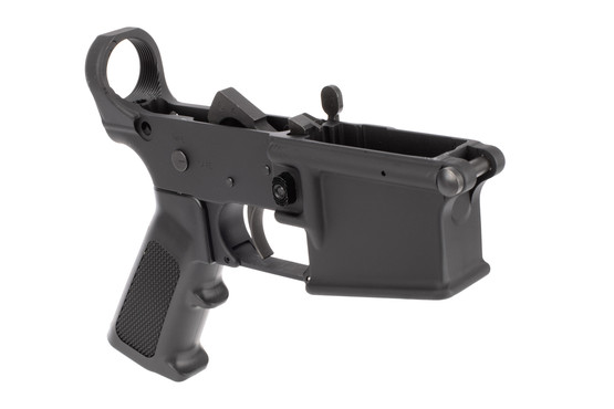 Yankee Hill Machine AR-15 lower receiver assembly features an A2 pistol group