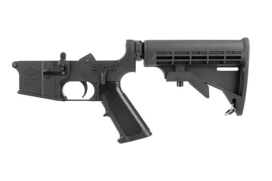 Yankee Hill Machine AR15 complete lower assembly is forged from 7075-T6 aluminum