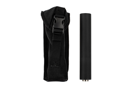 YHM 9mm Sidewinder Suppressor comes with a Cordura pouch