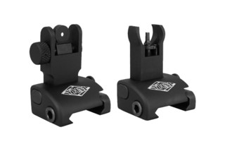 Yankee Hill Machine QDS back up iron sight set features an HK front sight hood