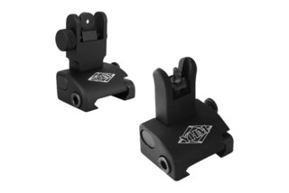Yankee Hill Machine QDS AR15 sight set features M4 front sight protective ears