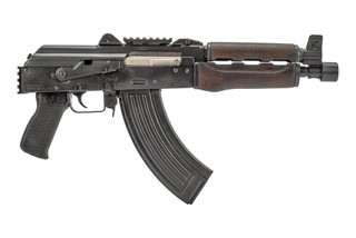 Zastava Arms M92 ZPAP AK 47 Pistol features a picatinny top rail and hinged dust cover