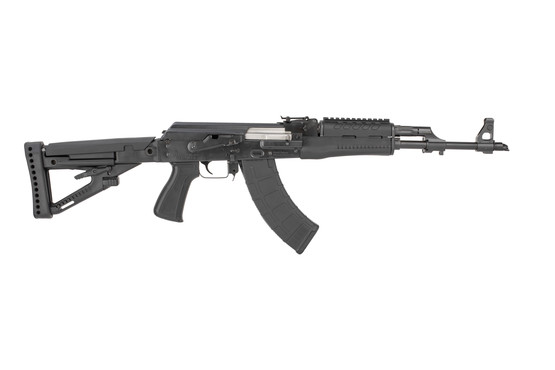 Zastava M70 ZPAP bulged turnion AK-47 rifle with polymer furniture and adjustable stock