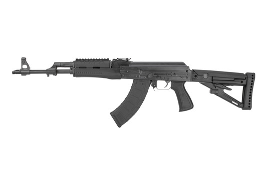 Zastava ZPAP M70 chrome line AKM with side rail for optics and lightweight polymer furniture